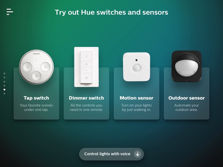 Philips Hue in-store app screenshot-7