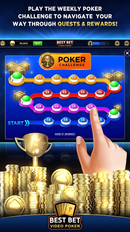 Best Bet Video Poker|50+ Games screenshot-5