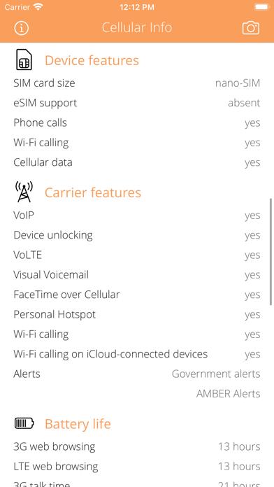 Cellular Infoのおすすめ画像2