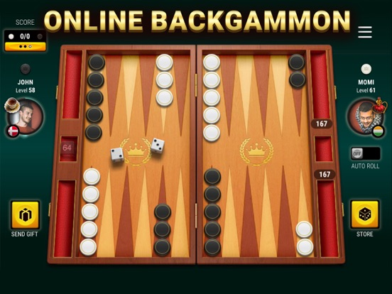 Backgammon Live – Free board games with friends screenshot