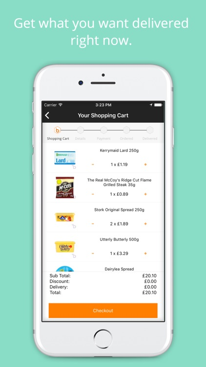 Beelivery: Grocery Delivery screenshot-3