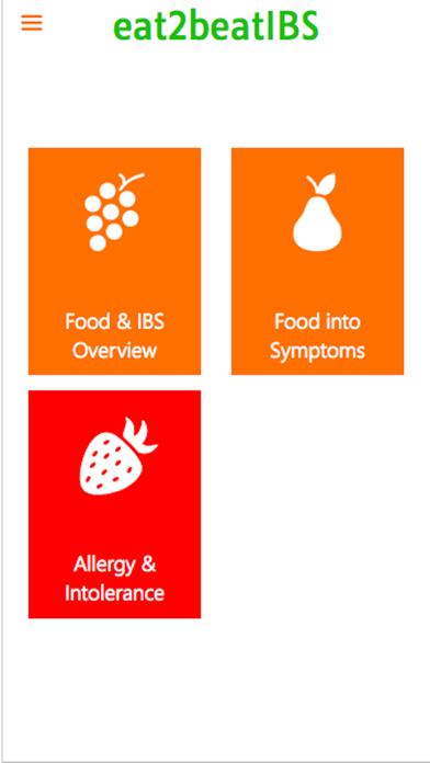IBSDietMatch- IBS diet, FODMAP screenshot three