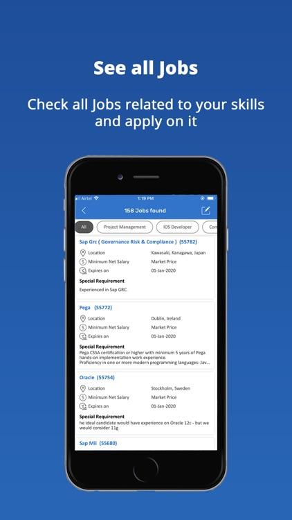 Newforce: Job Search screenshot-4
