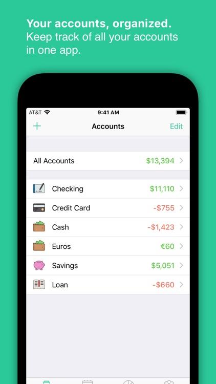 Savings 3: Checkbook