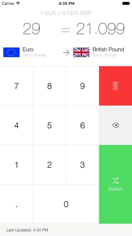 My Currency Converter Pro screenshot-3