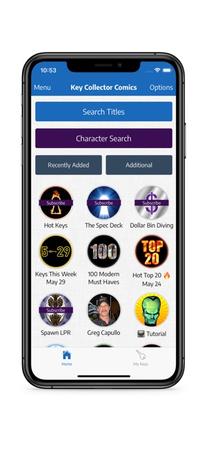 Key Collector Comics App on the App Store
