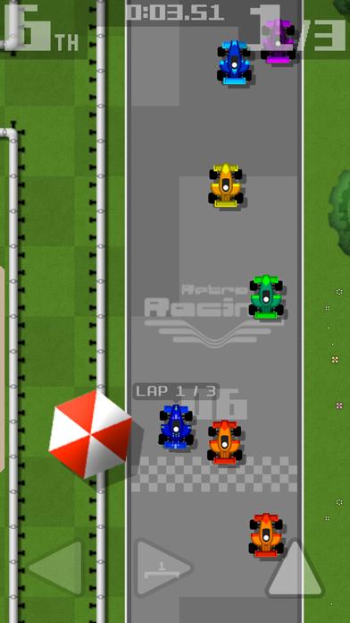 Retro Racingのおすすめ画像1