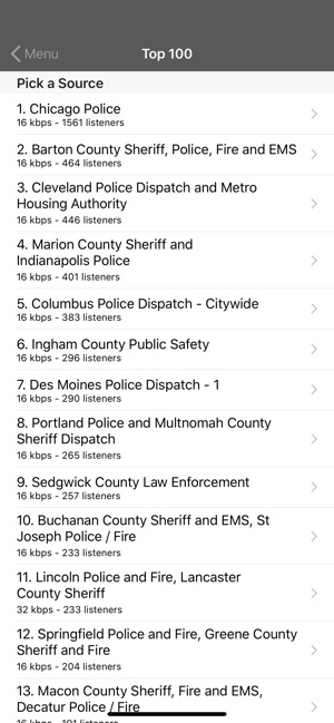 5-0 Radio Police Scanner on the App Store