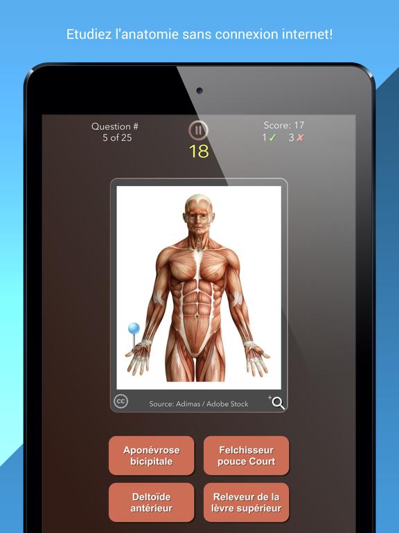 Screenshot #6 pour Anatomist – Anatomie Quiz Jeu