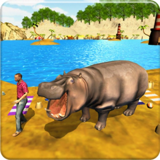Hungry Hippo Attack 3D Game