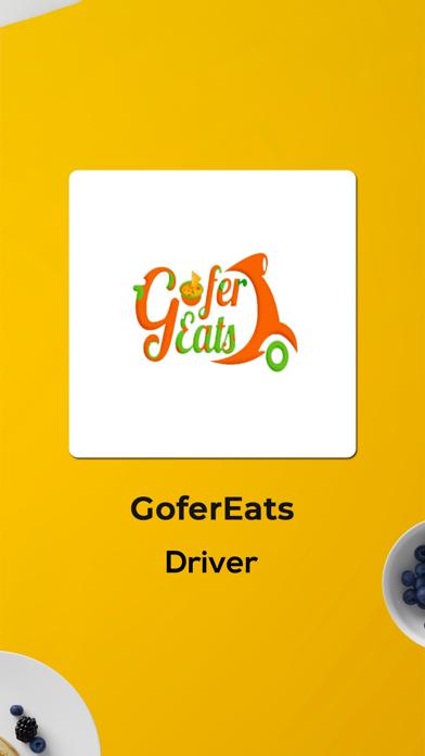 GoferEats Driver Screenshot