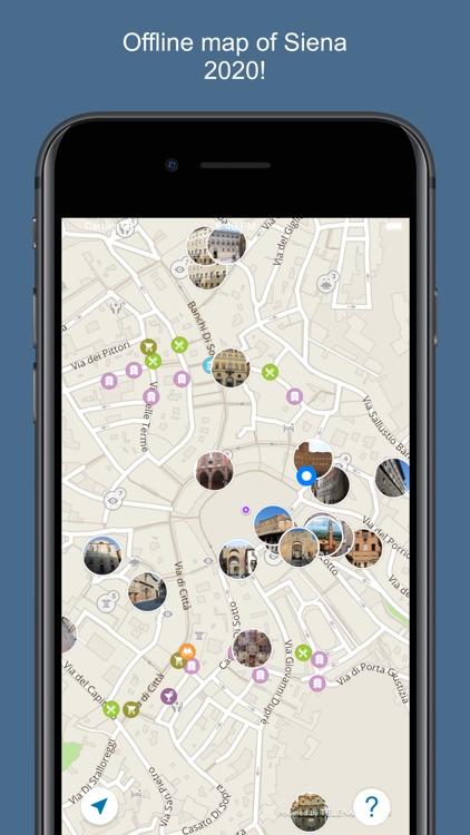 Siena 2020 — offline map