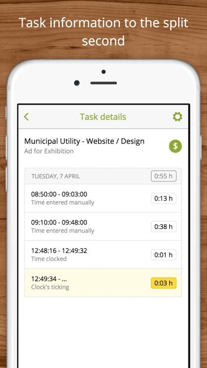 clockodo Time Tracking screenshot-3