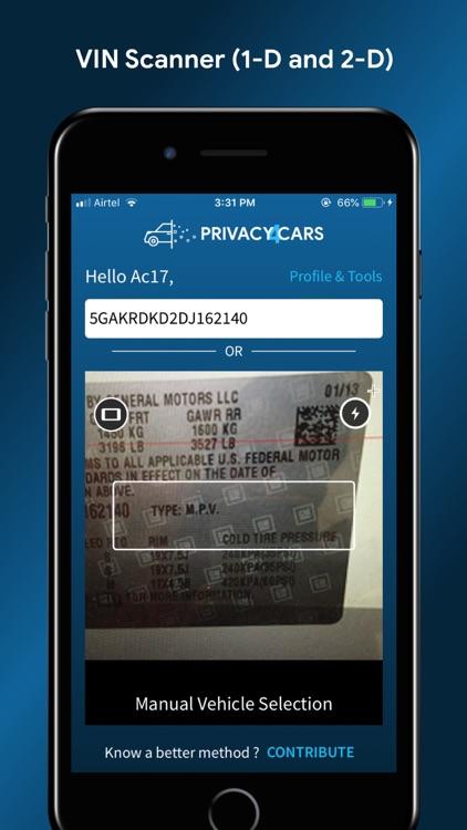 Privacy4Cars: delete car data screenshot-3