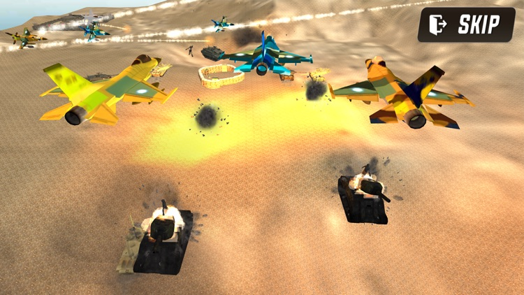 Jet Sky Fighter Modern Combat screenshot-0