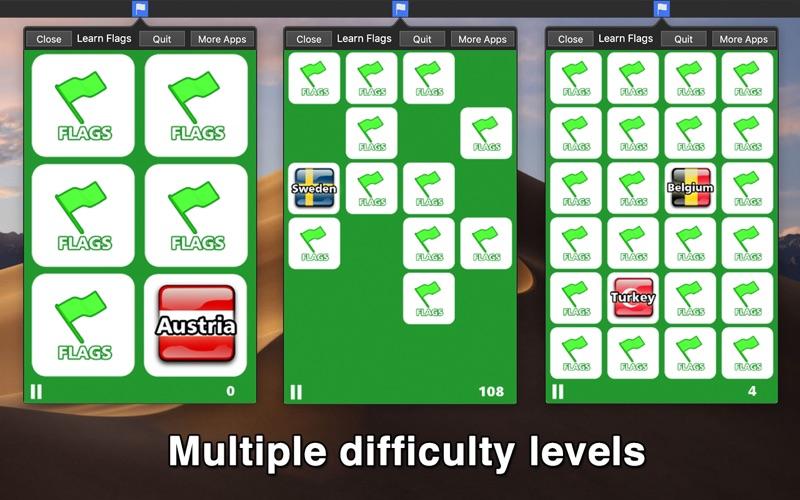Learn Flags - Menu Edition screenshot 2