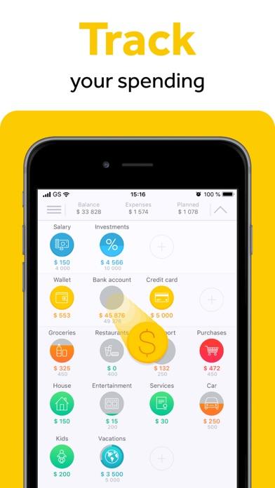 CoinKeeper: money manager Screenshot