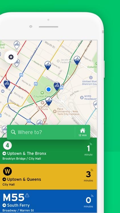 Transit • Bus & Subway Times screenshot-0