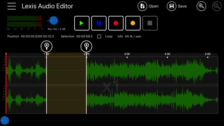 Lexis Audio Editor by Urs Ammann