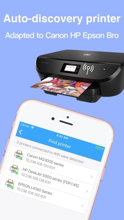 Printsmart-WiFi printer app