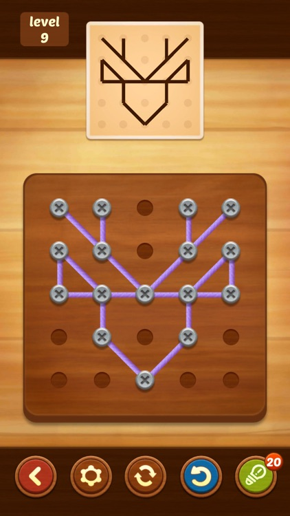 Line Puzzle: String Art screenshot-5
