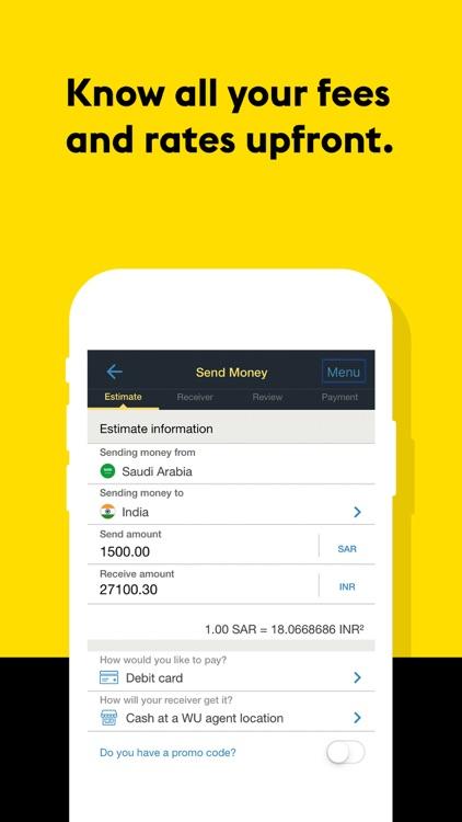 WesternUnion SA Money Transfer screenshot-5