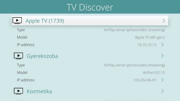 TV Discover
