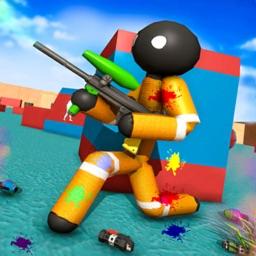 Stickman Paintball Warfare