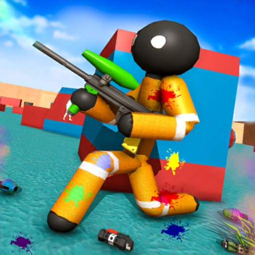 Stickman Paintball Warfare