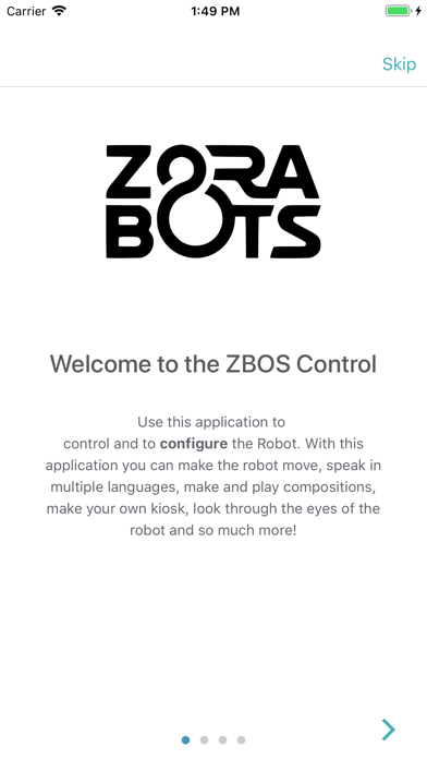 Screenshot for ZBOS Control in Qatar App Store