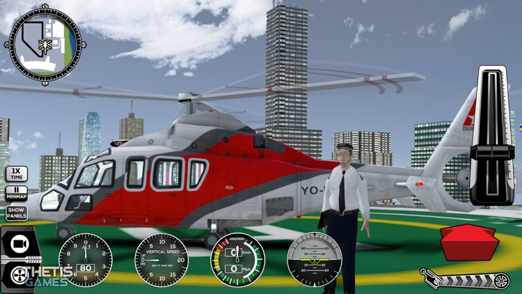 Helicopter Simulator 2017 screenshot-4