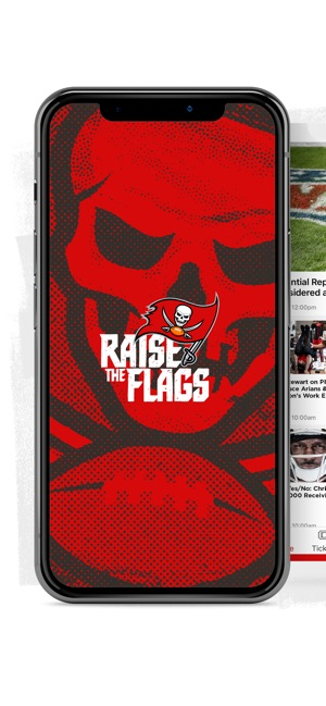 hot sales 04f87 b1547 Tampa Bay Buccaneers Official on the App Store