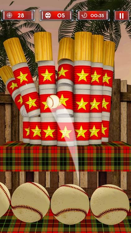 Hit And Knock Down Tin Cans 3D screenshot-4