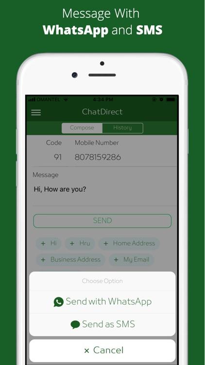 ChatDirect - Message Directly screenshot-3