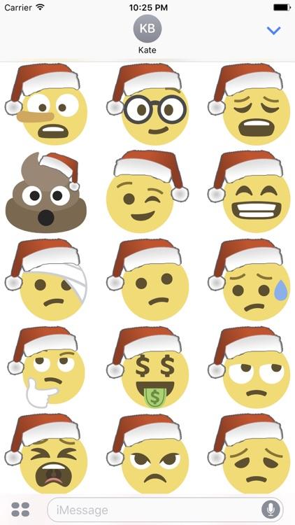 Santa Emoji screenshot-3