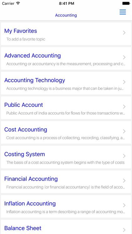 MBA Advanced Accounting screenshot-4