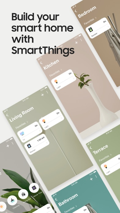 Screenshot for SmartThings (Samsung Connect) in Jordan App Store