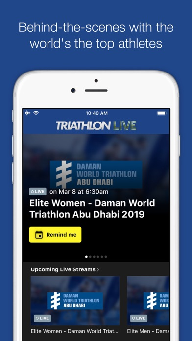 Screenshot #7 for TriathlonLive - Triathlon TV