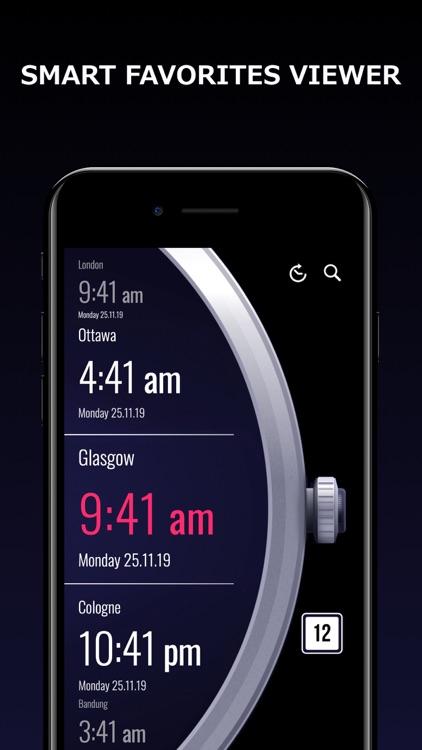 World Clock - Time Zones screenshot-3