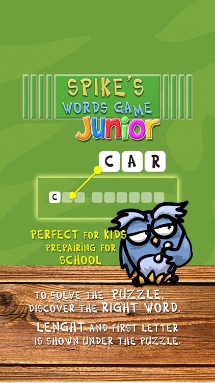 Spike's Word Game Junior screenshot-3