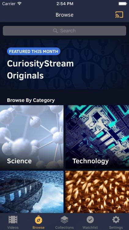 CuriosityStream screenshot-4