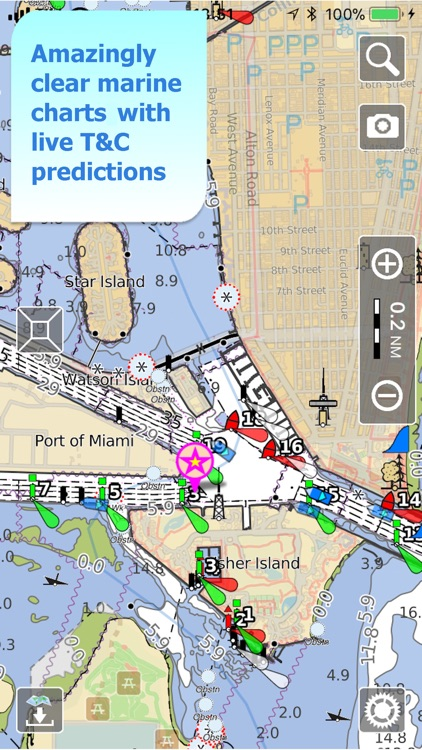 Aqua Map Marine & Lakes GPS screenshot-7