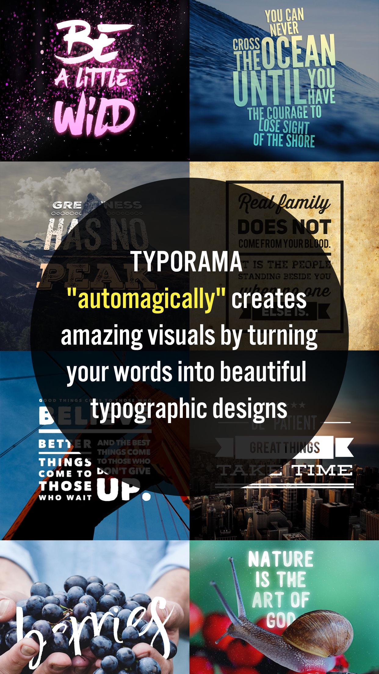 Typorama: Text on Photo Editor Screenshot