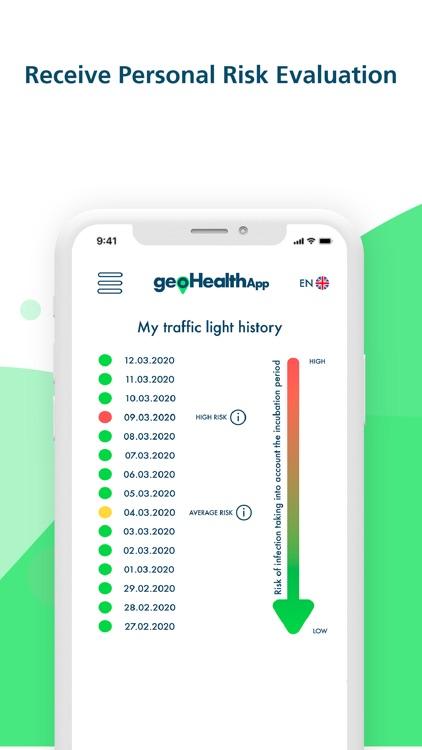 geoHealthApp Covid19 Tracker screenshot-3