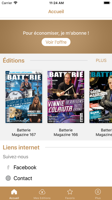Batterie Magazine Screenshot