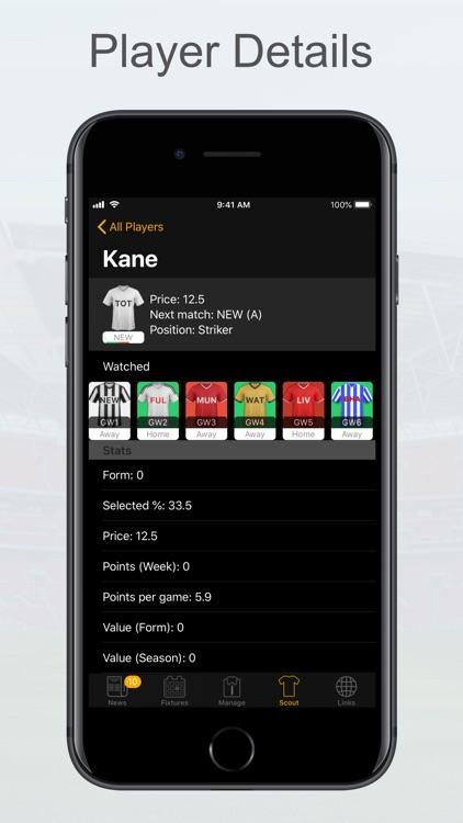 FPL Fantasy Football Manager screenshot-7