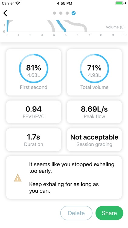 Aria: Spirometry & Lung Health screenshot-4