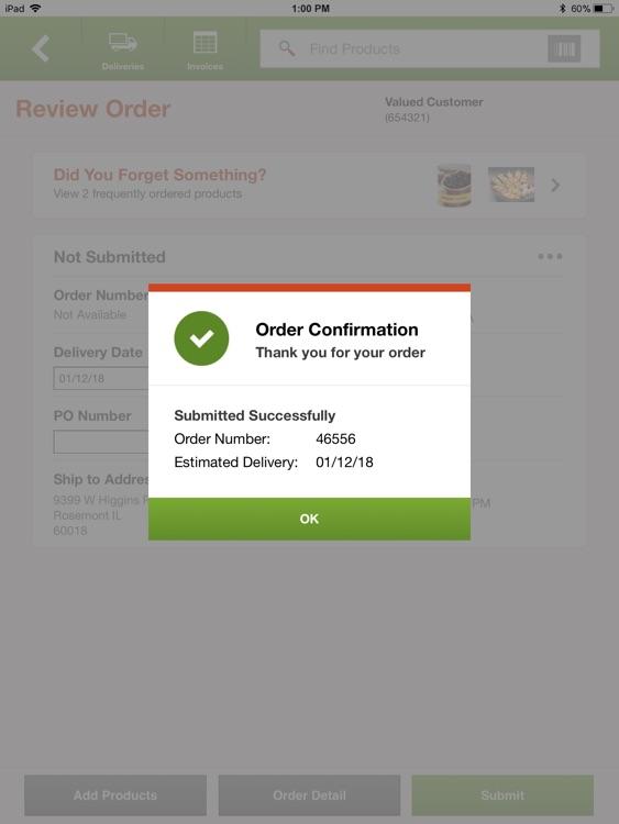 US Foods for Tablet screenshot-3