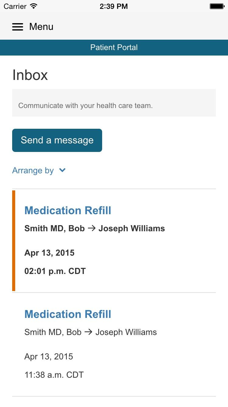 HealtheLife Screenshot
