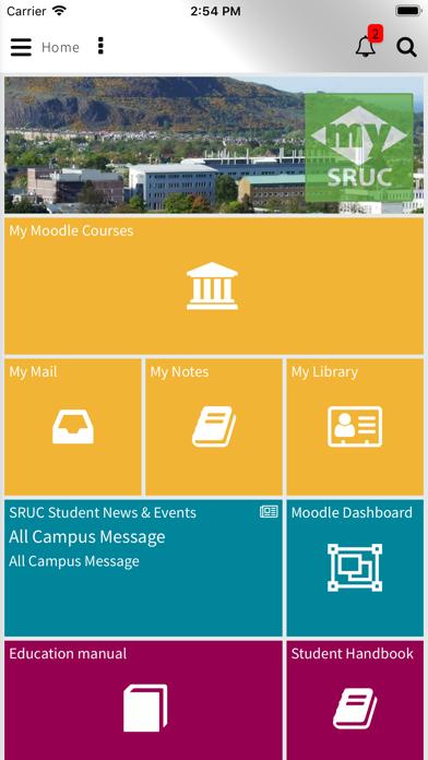 MySRUC screenshot 1